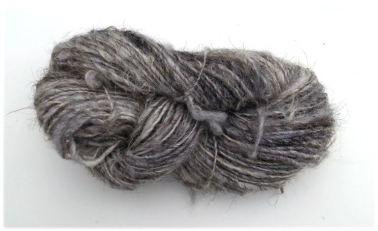 Ouessant grijs streng